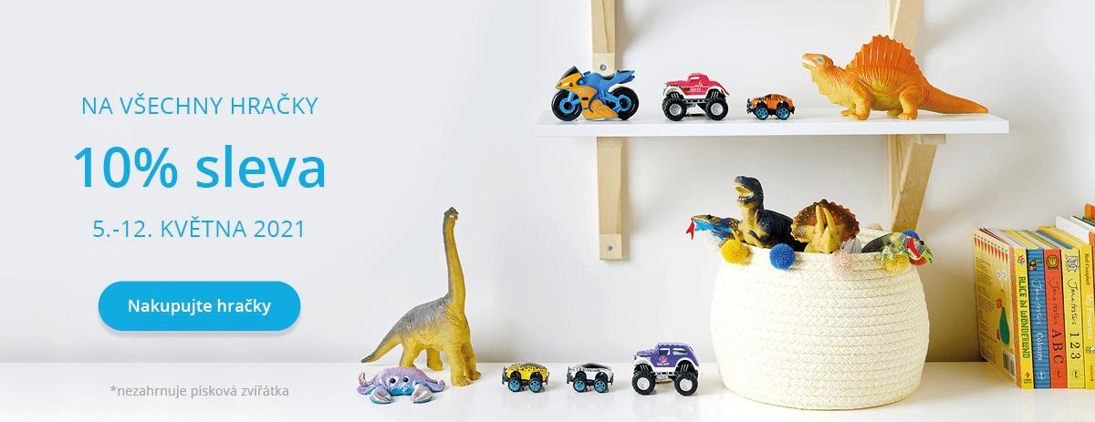 10% sleva na naši kolekci hraček!